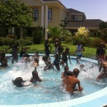 Kids Club enjoying the Tanga Beach Resort