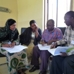 The first Trial Toolkit training in Tanga in 2009